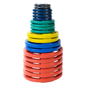 ORCT455 Color Rubber Grip Olympic Sets