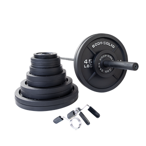 OSB400S Cast Iron Olympic Weight Sets