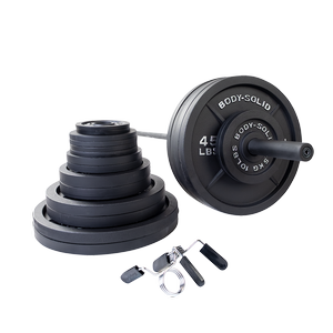 OSB500S Cast Iron Olympic Weight Sets