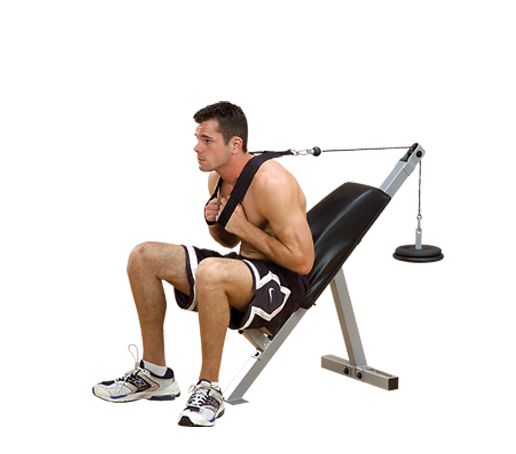 PAB21X - Powerline Ab Bench