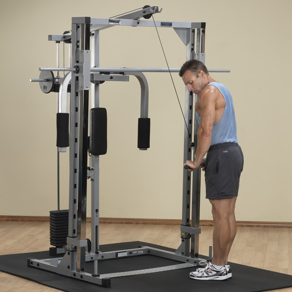 solid powerline smith machine