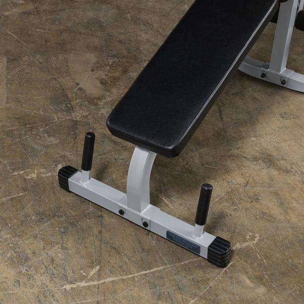 30mm Body-Solid PLCE-165 Powerline-Serie Beinbeuger Beinstrecker mit Gewichten