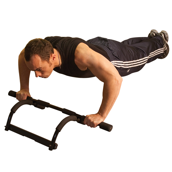 PUB30 - Mountless Pull Up/Push Up Bar - -Solid Fitness on