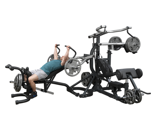 SBL460P4 - Freeweight Leverage Gym