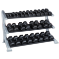 3-Tier Flat Dumbell Rack