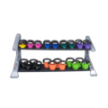 2-Tier with optional vynil kettlebells