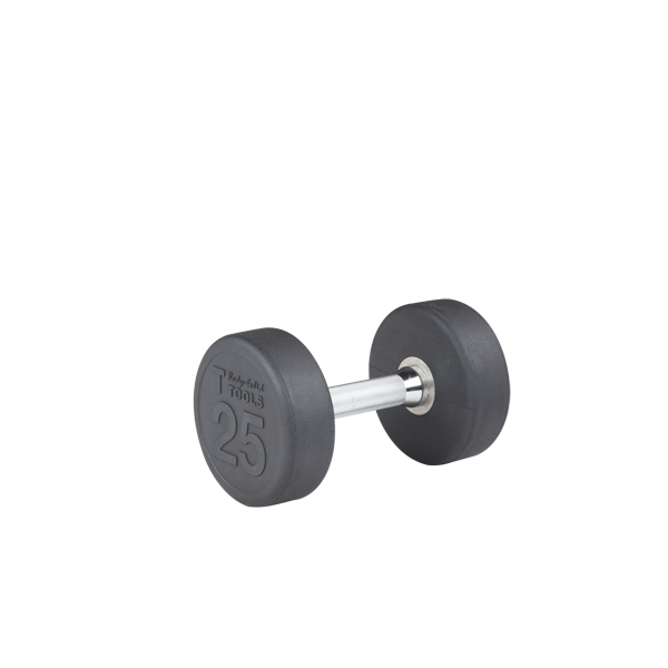 SDP25 - 25 lb. Rubber Pro-Style Dumbbell