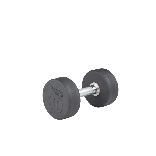 SDP30 - 30 lb. Rubber Pro-Style Dumbbell