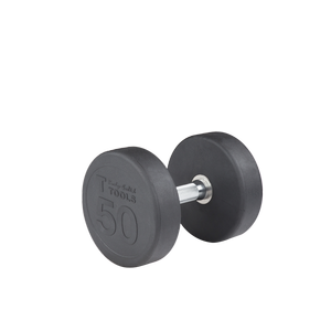 SDP50 - 50 lb. Rubber Pro-Style Dumbbell