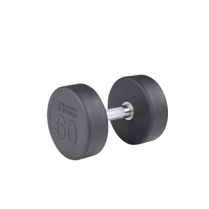 SDP60 - 60 lb. Rubber Pro-Style Dumbbell