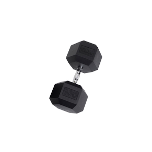 SDR100 Rubber Hex Dumbbells