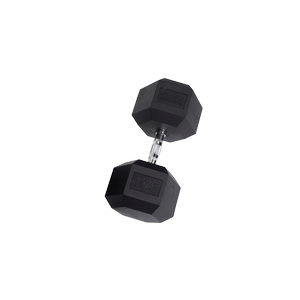 SDR105 Rubber Hex Dumbbells