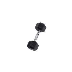 SDR12 Rubber Hex Dumbbells