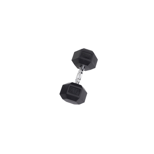 SDR40 Rubber Hex Dumbbells