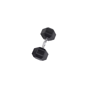 SDR50 Rubber Hex Dumbbells