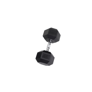 SDR60 Rubber Hex Dumbbells