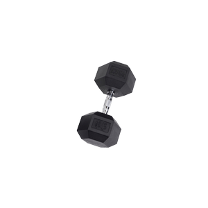 SDR65 Rubber Hex Dumbbells