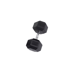 SDR75 Rubber Hex Dumbbells