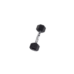 SDR8 Rubber Hex Dumbbells