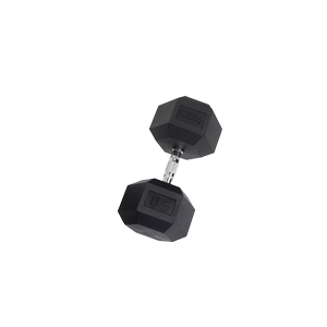 SDR85 Rubber Hex Dumbbells