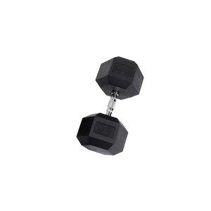 SDR95 Rubber Hex Dumbbells