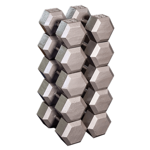 SDS650 - Hex Dumbbell Set — 55 to 75 Lbs.