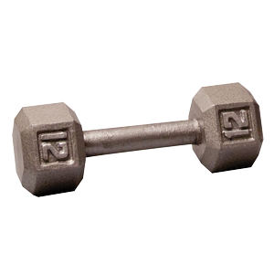 SDX12 - 12 Lb. Hex Dumbbell