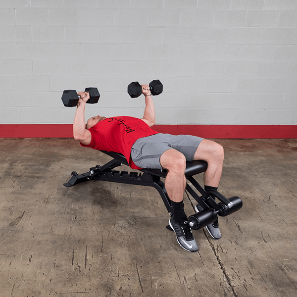 Sfid425 Body Solid Full Commercial Adjustable Bench Body Solid Fitness