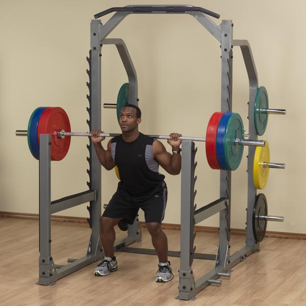 Smr1000 Pro Clubline Multi Squat Rack Body Solid Fitness