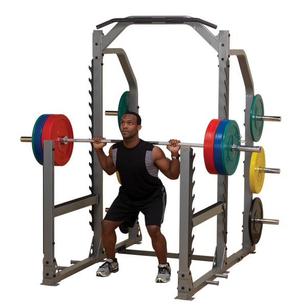 Smr1000 Pro Clubline Multi Squat Rack Body Solid Fitness